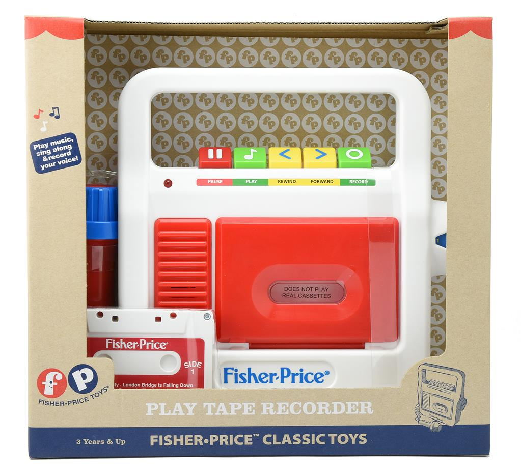 Fisher Price : Magnétophone