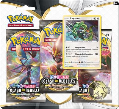 Pokémon EB02 : Pack 3 boosters
