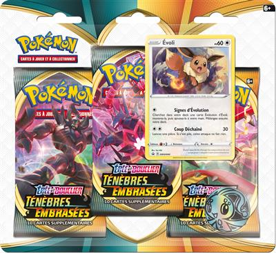 Pokémon EB03 : Pack 3 boosters