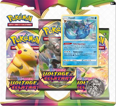 Pokémon EB04 : Pack 3 boosters
