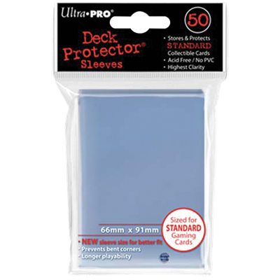 Ultra PRO : 50 sleeves Standard Transparent