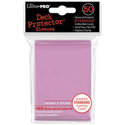 Ultra PRO : 50 sleeves Standard Rose