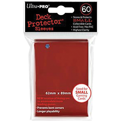 Ultra PRO : 60 sleeves Japonais Rouge