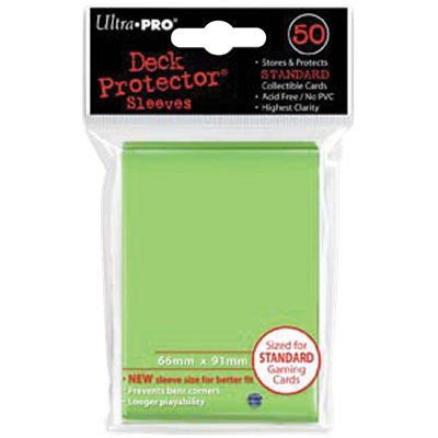 Ultra PRO : 50 sleeves Standard Anis