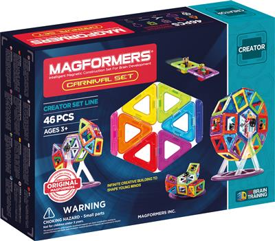 Magformers : Carnival Creator Set 46 pièces