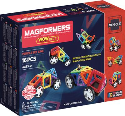 Magformers : WOW Set 16 pièces