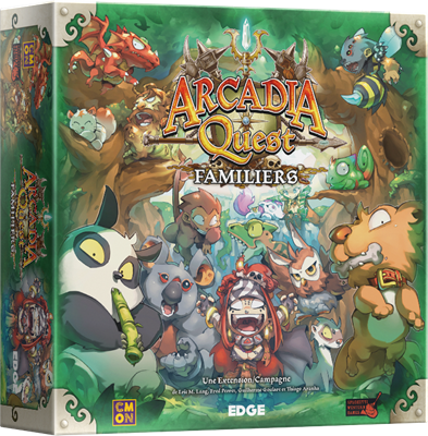 Arcadia Quest : Familiers (Ext)