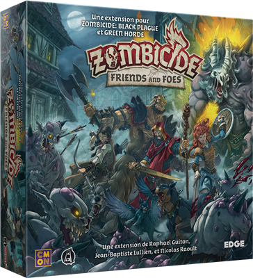 Zombicide Black Plague : Friends and Foes