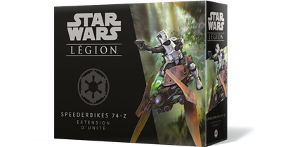 Star Wars Légion : Speederbikes 74-Z