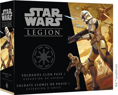 Star Wars Légion : Soldats Clones Phase I