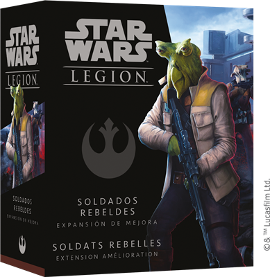 Star Wars Légion : Soldats Rebelles Upgrade