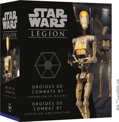 Star Wars Légion : Droïdes Combat B1 Upgrade
