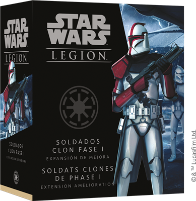 Star Wars Légion : Soldats Clones Phase I Upgrade