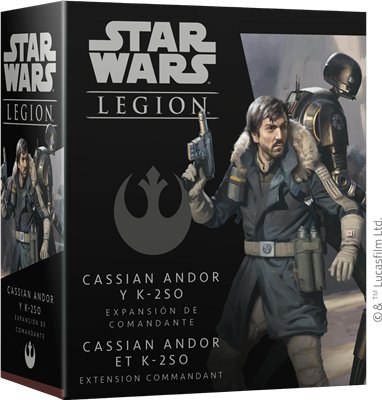 Star Wars Légion : Cassian Andor et K-2SO