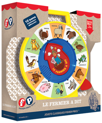 Fisher Price : Le Fermier a dit